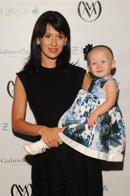 Hilaria Baldwin z córką Carmen /D Dipasupil /Getty Images