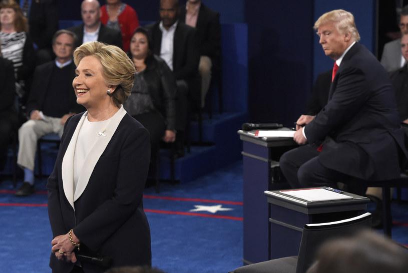 Hilarry Clinton czy Donald Trump? Kogo wybiorą Amerykanie? /SAUL LOEB / POOL  /AFP