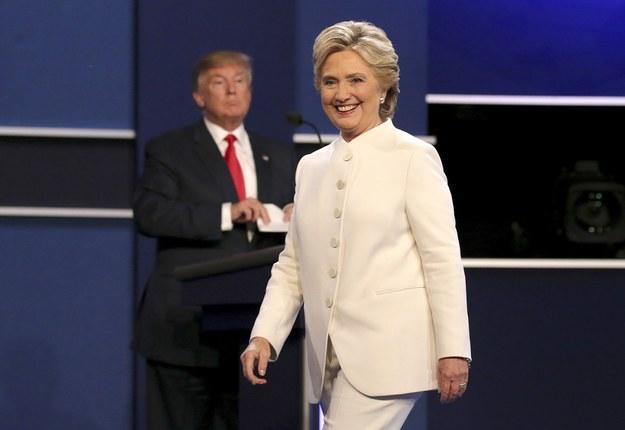 Hilary Clinton i Donald Trump /GARY HE /PAP/EPA
