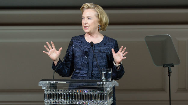 Hilary Clinton /Theo Wargo /Getty Images