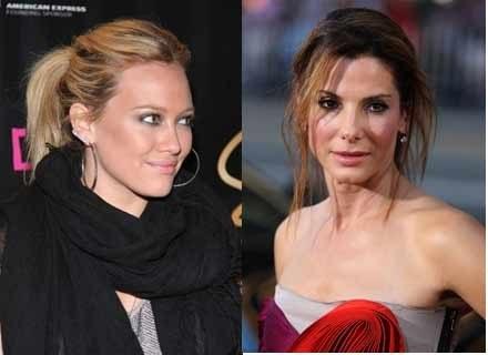 Hilary Duff i Sandra Bullock /Getty Images/Flash Press Media
