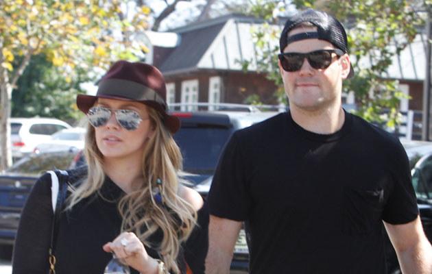 Hilary Duff z mężem  /Splashnews