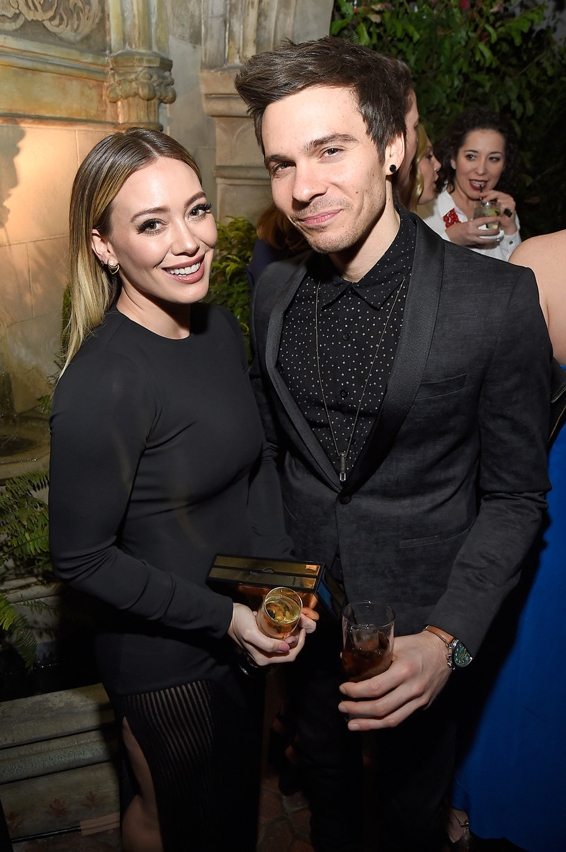 Hilary Duff z partnerem, Matthewem Komą /Matt Winkelmeyer /Getty Images