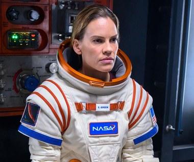 Hilary Swank zdradziła, że grając astronautkę, w skafandrze cierpiała na klaustrofobię