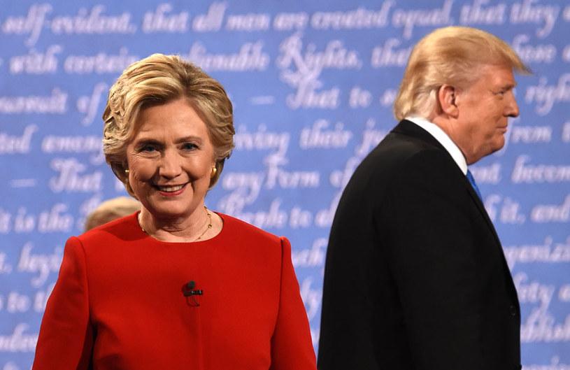 Hillary Clinton i Donald Trump szykują się do kolejnej debaty /TIMOTHY A. CLARY /AFP