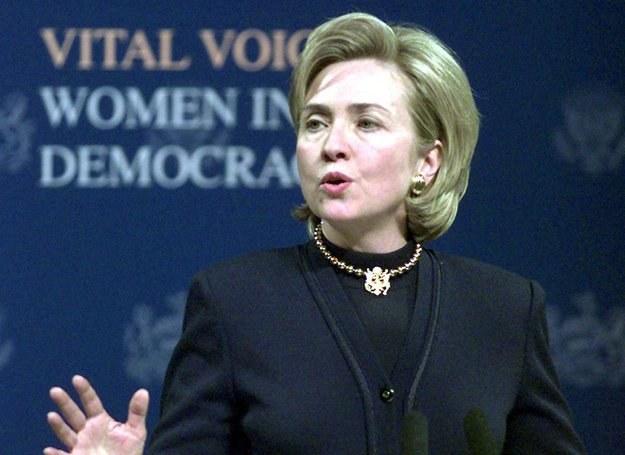 Hillary Clinton jedna z założycielek Vital Voices /AFP