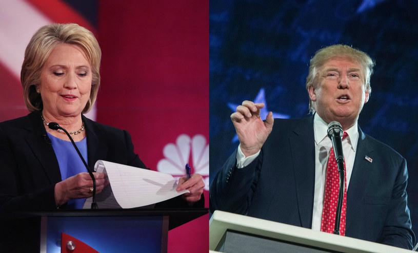 Hillary Clinton kontra Donald Trump /AFP