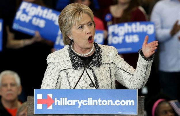 """Hillary Clinton: """"Nie musimy przywracać Ameryce wielkości. Ameryka już jest wielka"""" /AFP"""