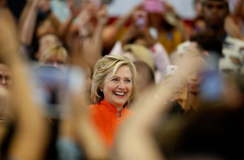 Hillary Clinton prowadzi kampanię wyborczą /AFP