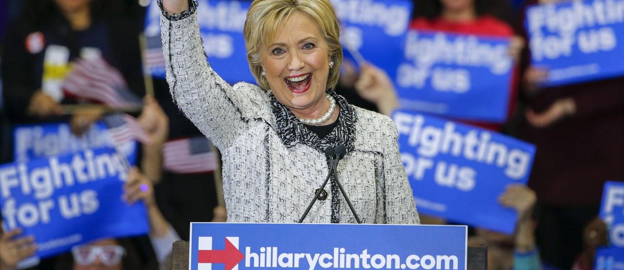 Hillary Clinton triumfowała w prawyborach w Karolinie Południowej. Dostała blisko 2/3 głosów