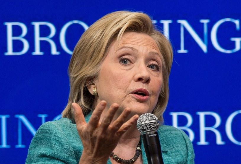 Hillary Clinton /NICHOLAS KAMM /AFP
