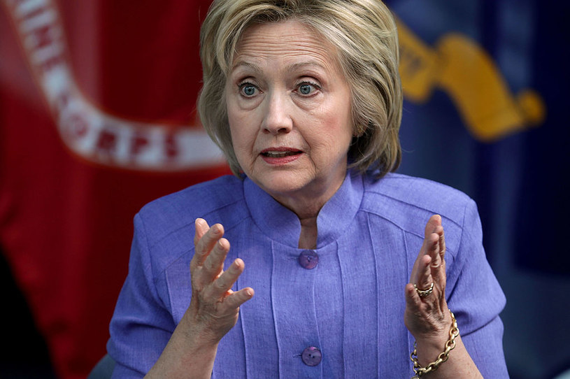 Hillary Clinton /Getty Images