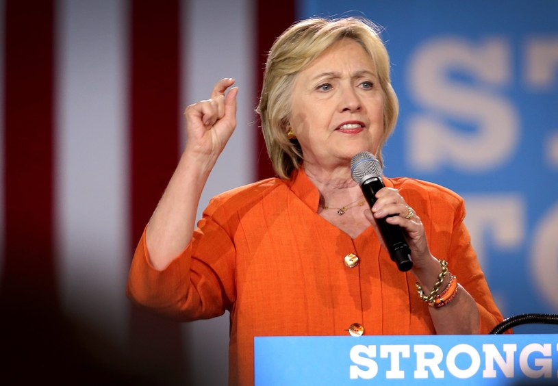 Hillary Clinton /PAP/EPA