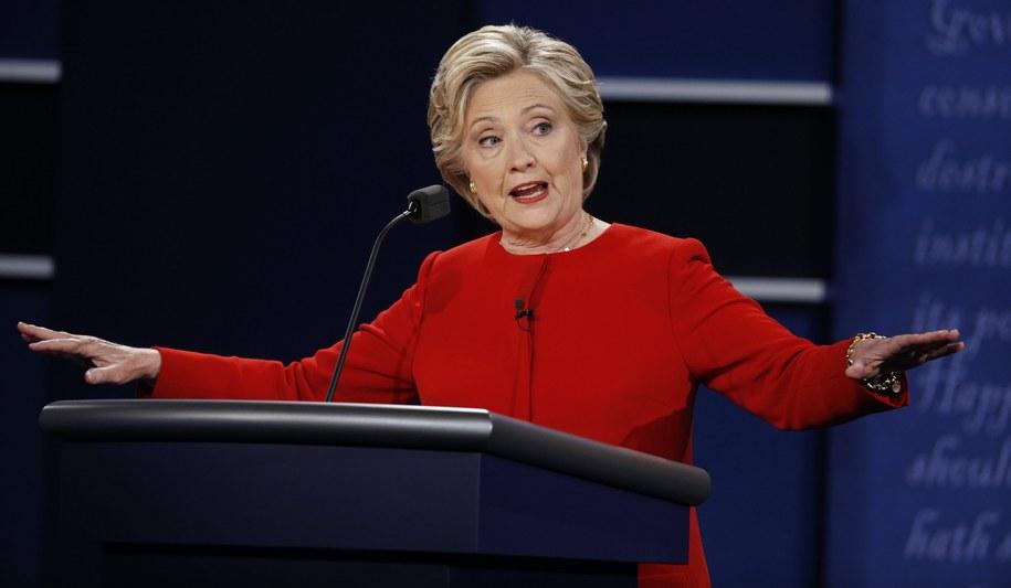Hillary Clinton /PAP/EPA/Justin Lane /PAP/EPA