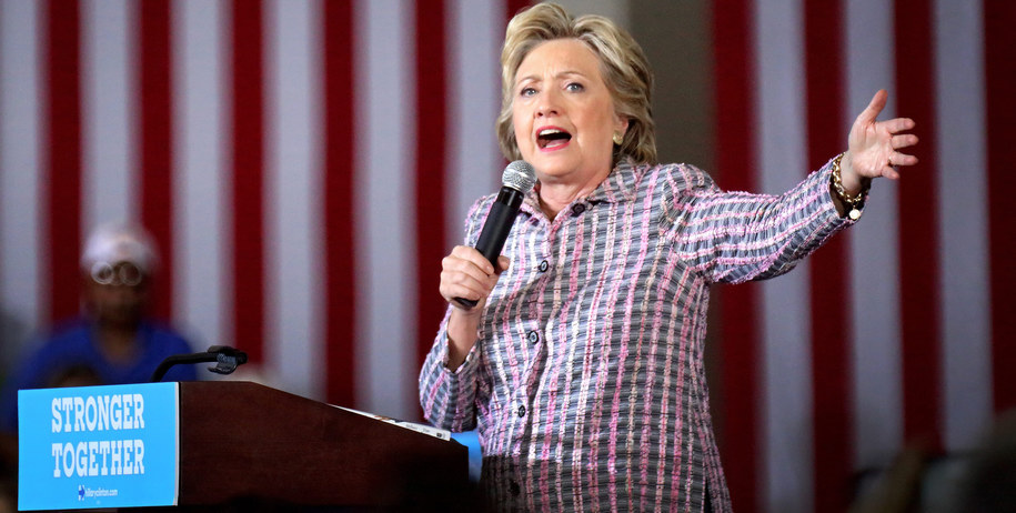 Hillary Clinton /EPA/CRISTOBAL HERRERA /PAP/EPA