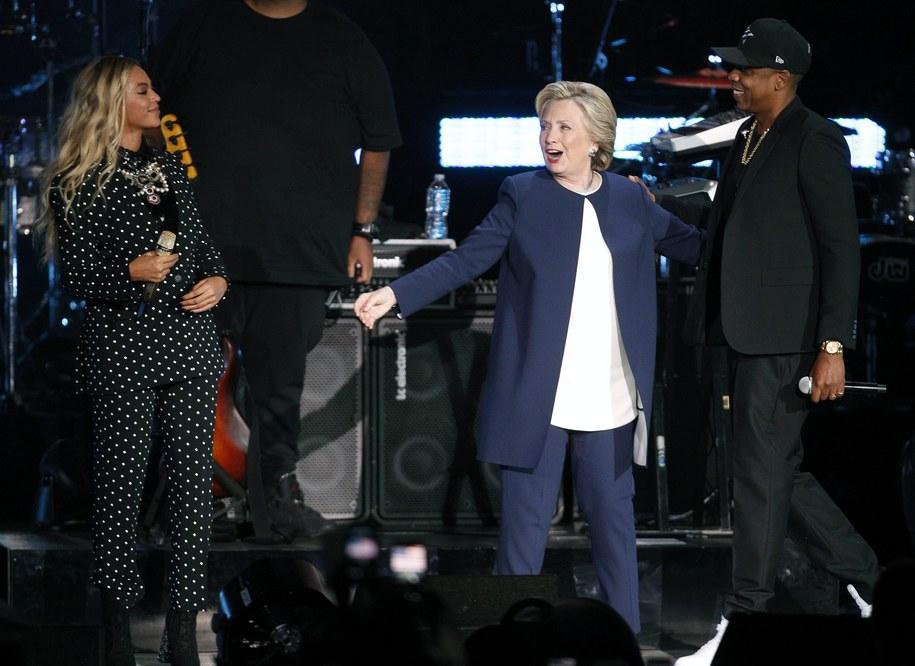 Hillary Clinton /PAP/EPA/DAVID MAXWELL /PAP/EPA