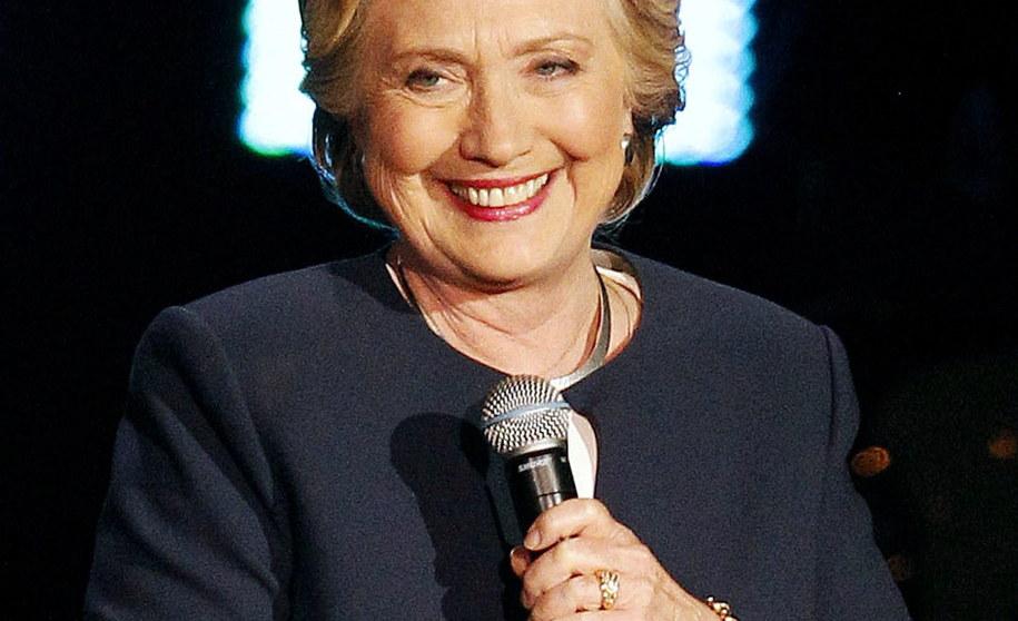 Hillary Clinton /DAVID MAXWELL /PAP/EPA