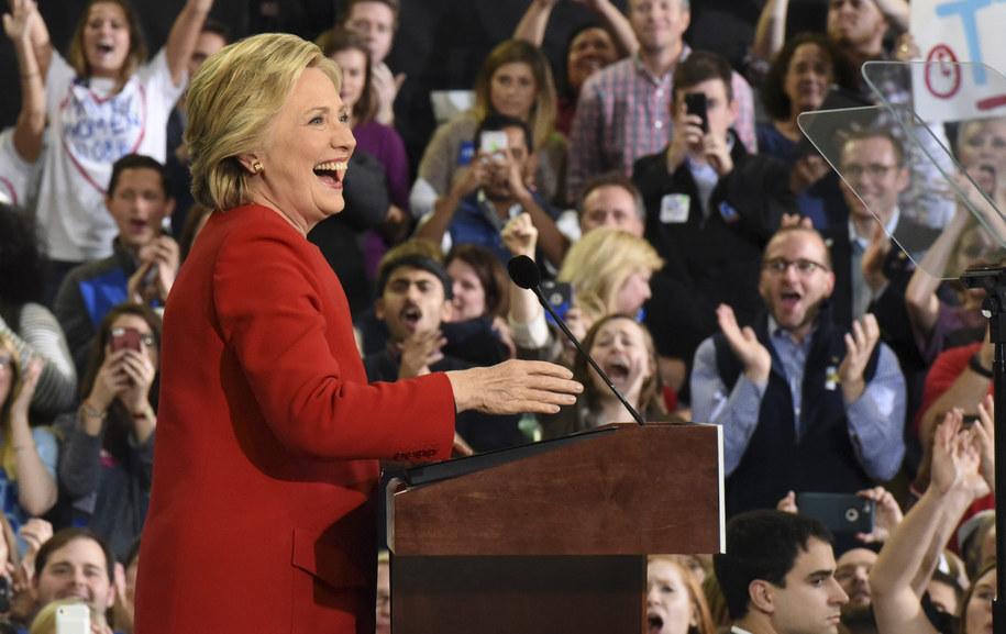 Hillary Clinton /PAP/EPA/CAITLIN PENNA /PAP/EPA