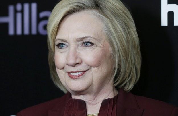 Hillary Clinton /JOHN ANGELILLO /PAP/EPA