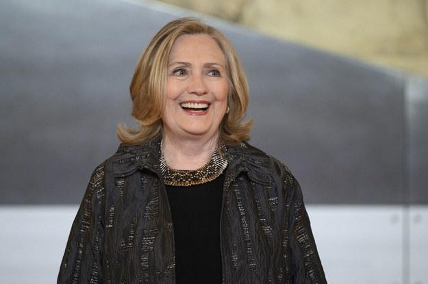Hillary Clinton /Blondet Eliot /PAP/Abaca
