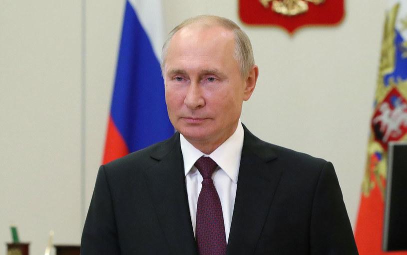 Hipersoniczny pocisk manewrujący Cyrkon wystrzelono w dniu 68. urodzin Władimira Putina /MIKHAIL KLIMENTYEV / SPUTNIK  /AFP