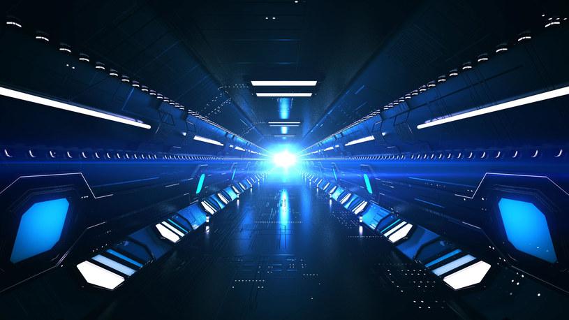 Hipersoniczny tunel - wizualizacja 3D /123RF/PICSEL