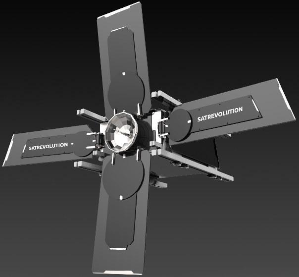 Hiperspektrometr SatRevolution zostanie wysłany na orbitę okołoziemską w 2020 r. /materiały prasowe