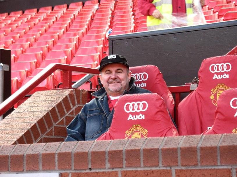Hirek Wrona na Old Trafford /