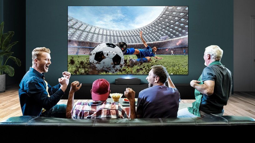 Hisense  100L5 4K Smart Laser TV /materiały prasowe