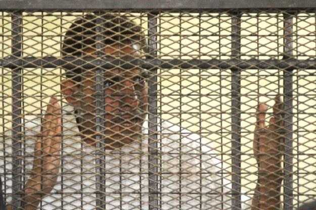 Hisham Talaat Moustafa za kratami spędzi 15 lat /AFP