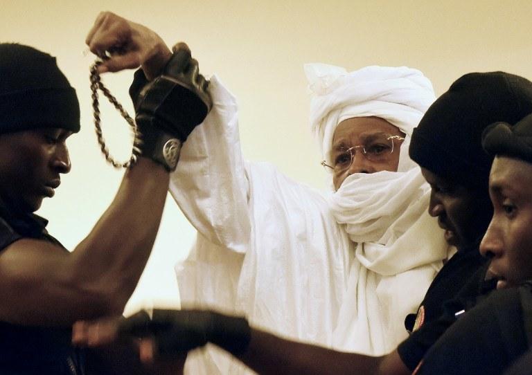 Hissene Habre /AFP
