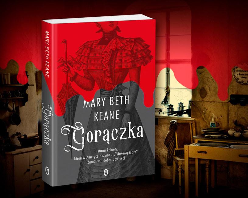 """Historia Mary Malone zainspirowała Mary Beth Keane do napisania powieści """"Gorączka"""". Kliknij i kup z rabatem /Ciekawostki Historyczne"""