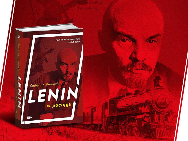 """Historia podróży, która zmieniła świat w książce Catherine Merridale pt. """"Lenin w pociągu"""". Kliknij i sprawdź /INTERIA.PL/materiały prasowe"""