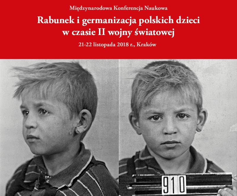 Historycy o rabunku i germanizacji polskich dzieci w czasie II wojny światowej. /Materiały prasowe
