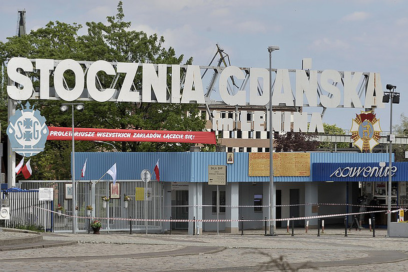 Historyczna brama nr 2 Stoczni Gdańskiej /Szczepański /Reporter