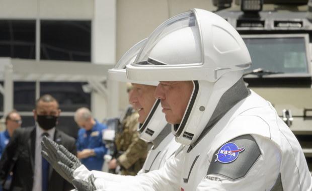 Historyczna misja kosmiczna Crew Demo-2 przełożona z powodu niesprzyjającej pogody