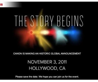 """Historyczna"" premiera od Canona już 3 listopada - EVIL, 5D Mk III, 6D czy kamera?"