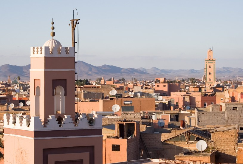 Historyczne centrum Marrakeszu /123RF/PICSEL