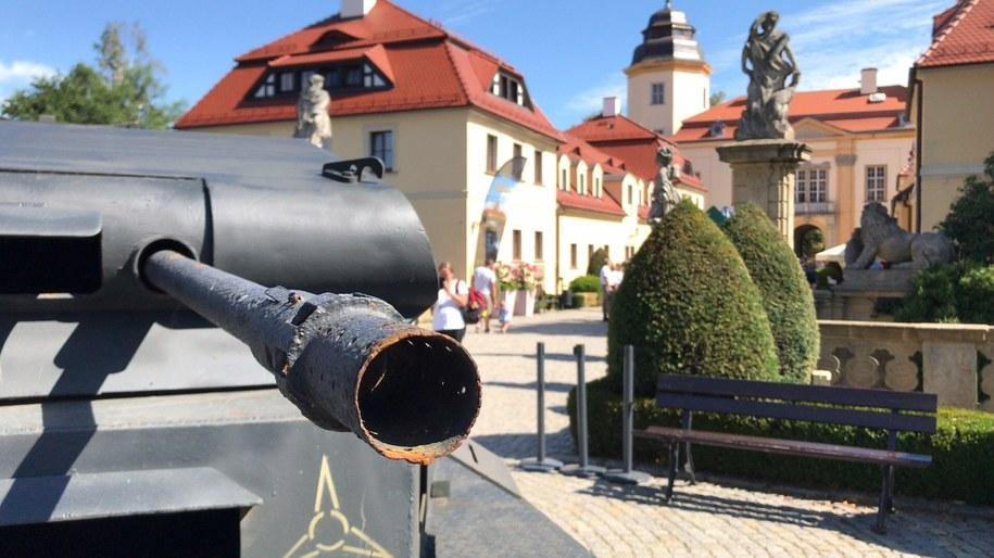 Historyczne czołgi pojawiły się przed Zamkiem Książ /Bartek Paulus /Bartłomiej Paulus, RMF FM