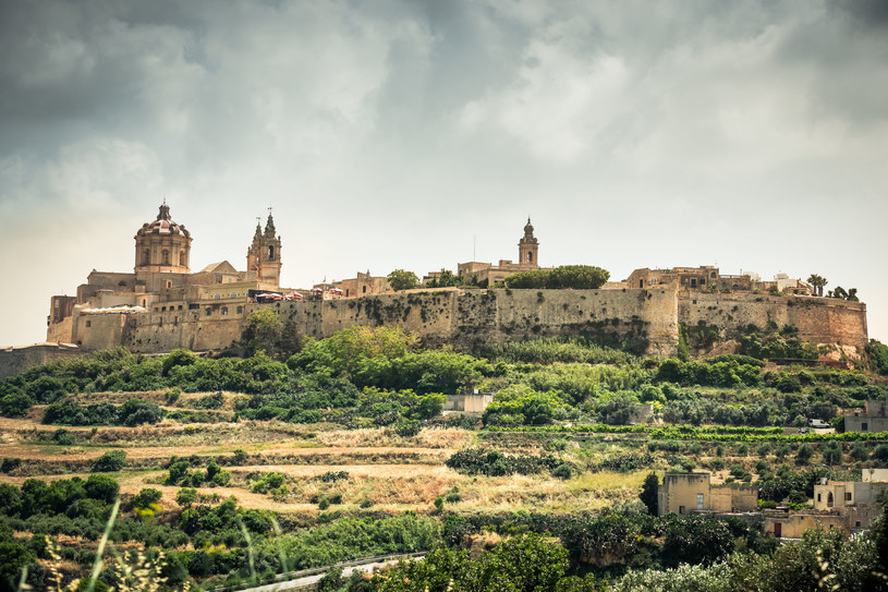 Historyczne miasto Mdina na Malcie /123RF/PICSEL