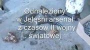 Historyczny arsenał znaleziony w Jeleśni na Podbeskidziu