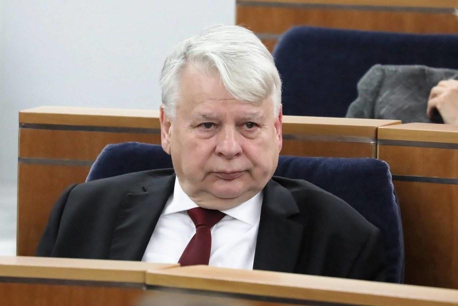 Historyk, działacz opozycji demokratycznej w PRL Bogdan Borusewicz / Tomasz Gzell    /PAP