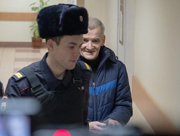 Historyk Jurij Dmitrijew, szef Stowarzyszenia Memoriał w Karelii na północy Rosji, zdjęcie z 2019 roku /Igor Podgorny /Getty Images