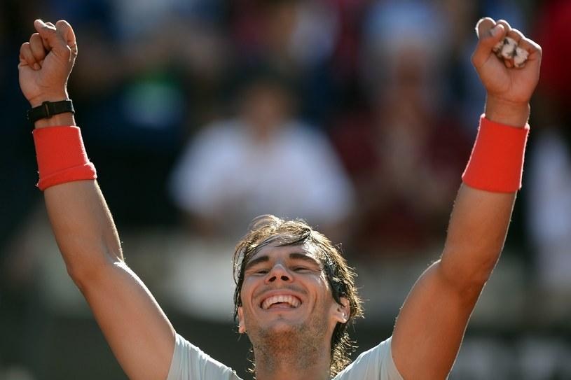 Hiszpan Rafael Nadal /AFP