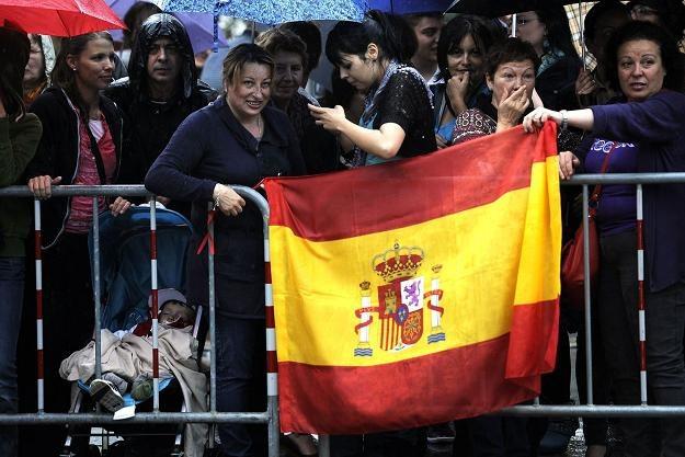 Hiszpania jest coraz mniej wiarygodna /AFP