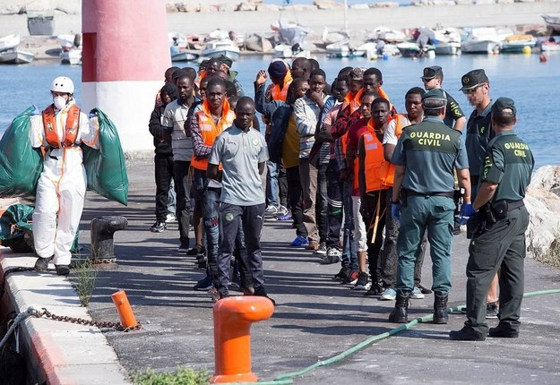 Hiszpania, nielegalni imigranci /MIGUEL PAQUET /PAP/EFE