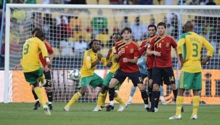 Hiszpania pokonała po dogrywce RPA 3:2 /AFP