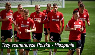 Hiszpania - Polska. Trzy scenariusze Polaków. Wideo
