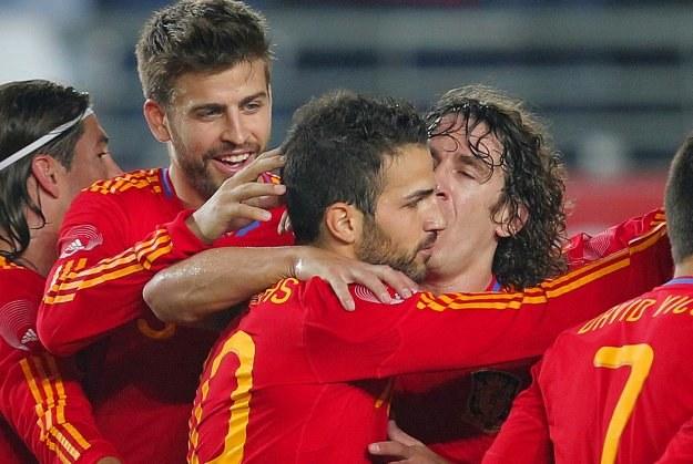 Hiszpania rozbiła Polskę 6-0 /AFP