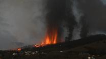 Hiszpania: Wybuch wulkanu Cumbre Vieja. Czarne chmury nad kanaryjską wyspą